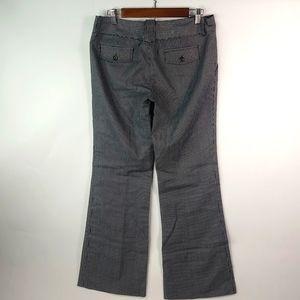 Star City Black Silver Pinstripe Dress Pants 9